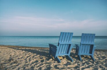 Muskoka Chairs on the Beach