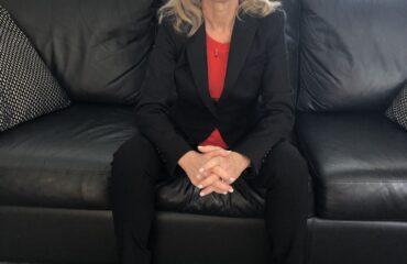 Linda Robertson sitting